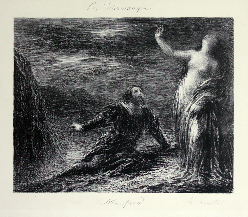 lord byrons manfred essay Manfred: a dramatic poem is a poem written in 1816–1817 by lord byron it  contains supernatural elements, in keeping with the popularity of the ghost story  in.