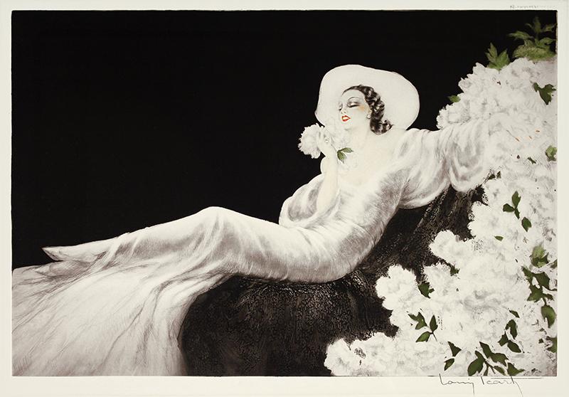 Parfum de Fleurs (Loves Blossom) by Louis Icart