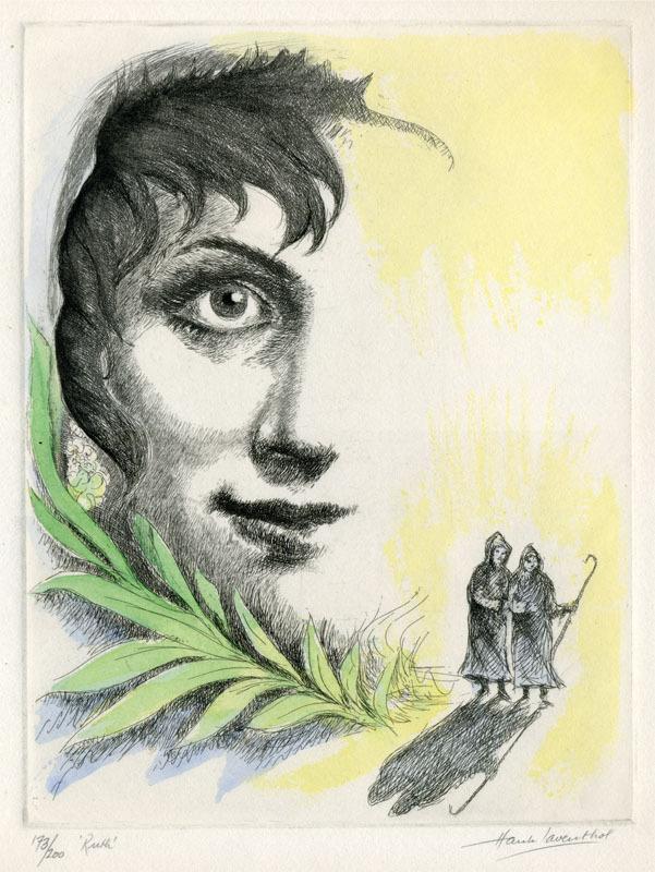 Ruth by Hank Laventhol | Annex Galleries Fine Prints