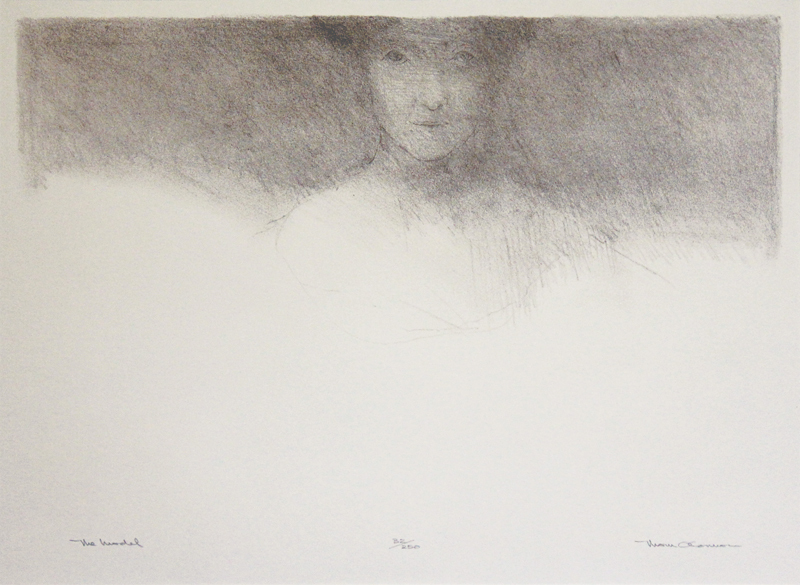The Model by Thom O'Connor | Annex Galleries Fine Prints