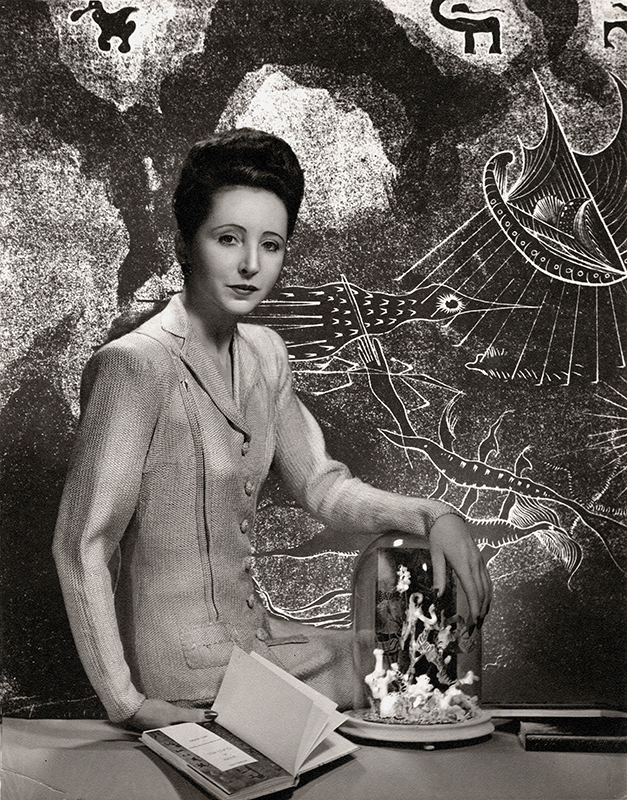 Anais Nin (for the cover of Under a Glass Bell) by Ian Hugo