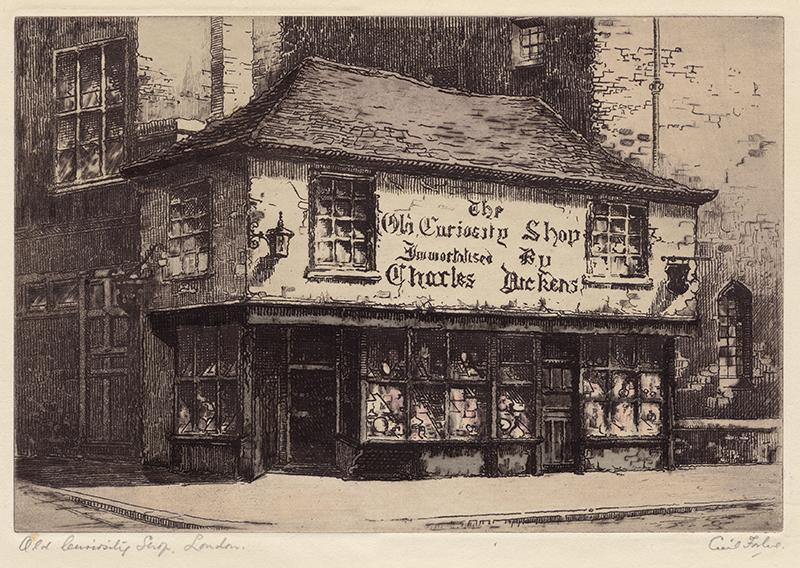 billiger Verkauf später Turnschuhe für billige Old Curiosity Shop, London by Cecil Forbes   Annex Galleries ...