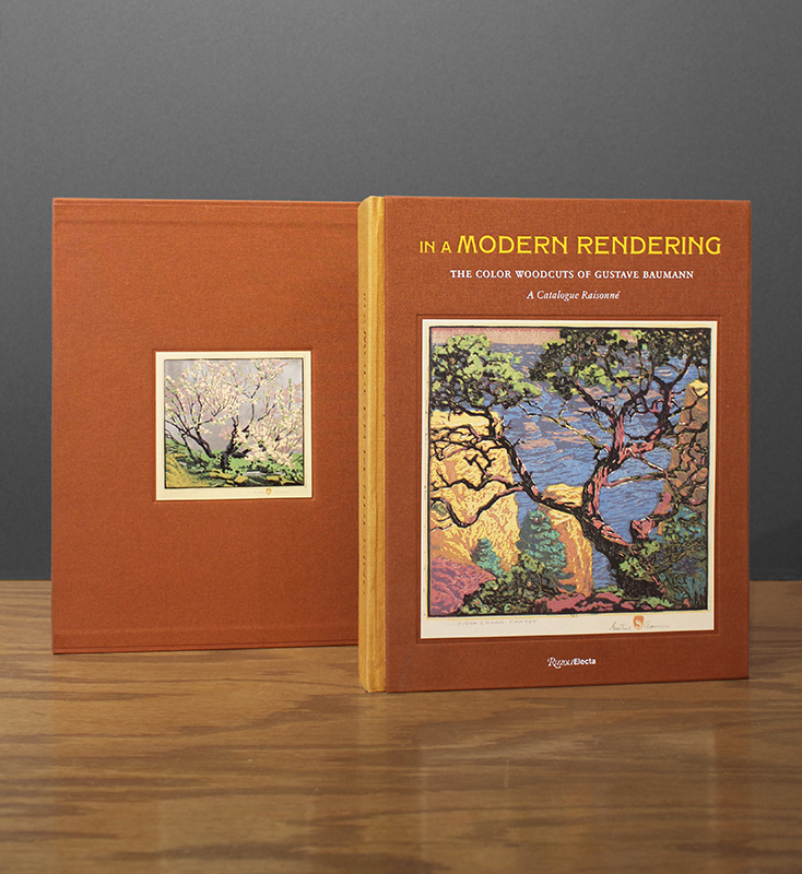 In A Modern Rendering The Color Woodcuts of Gustave Baumann: A Catalogue Raisonné by Gala Chamberlain, Author