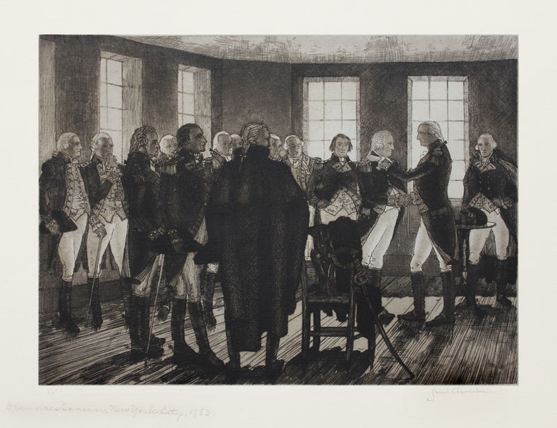 General Washington Saying Farewell to His Officers in ...