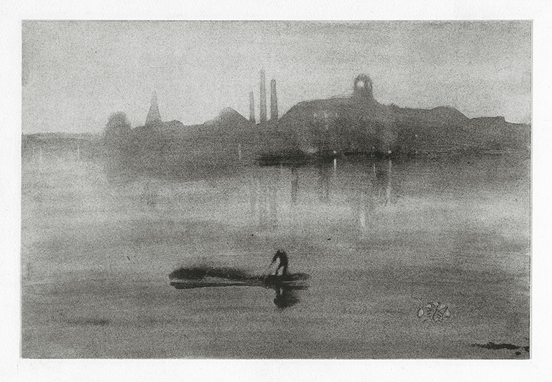 Nocturne (The River at Battersea) by James Abbott McNeill Whistler
