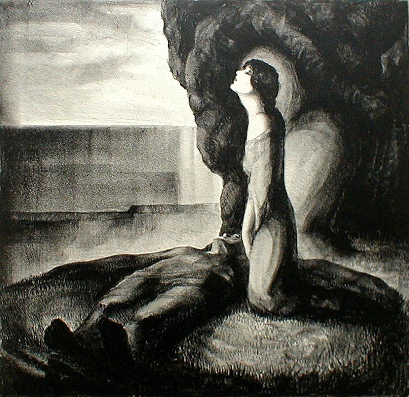 Love-Death By Warren Newcombe