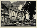 Old Wagon Shop-San Lorenzo by William Seltzer Rice