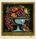 Still Life (aka Decorative Fruit Bowl) by William Seltzer Rice