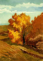 (Autumn, Leona Canyon) by William Seltzer Rice